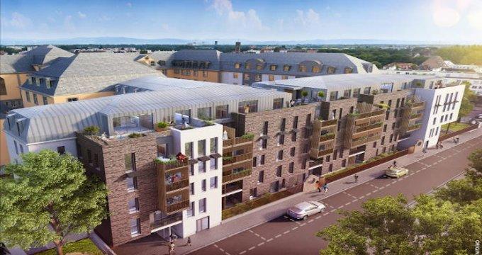 Achat / Vente immobilier neuf Strasbourg au coeur du quartier de Neudorf Sud (67000) - Réf. 4140