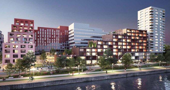 Achat / Vente immobilier neuf Strasbourg face au Bassin Vauban (67000) - Réf. 4002
