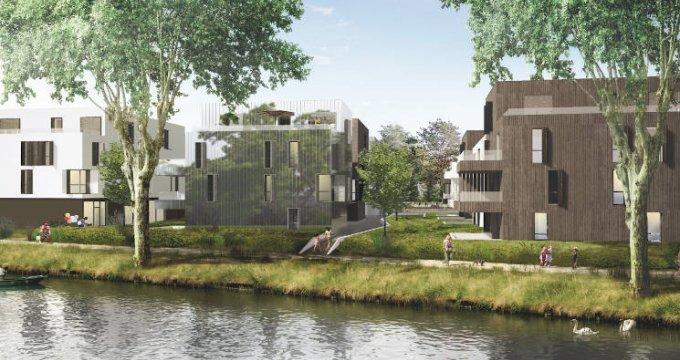 Achat / Vente immobilier neuf Strasbourg quartier de la Robertsau (67000) - Réf. 4995
