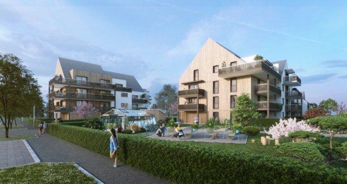 Achat / Vente immobilier neuf Strasbourg quartier Sud Neuhof (67000) - Réf. 5456