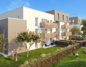 Achat / Vente immobilier neuf Colmar À 600 m de la gare Logelbach (68000) - Réf. 5969