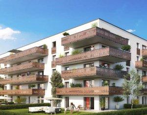 Achat / Vente immobilier neuf Huningue proche des quais du Maroc et du Rhin (68330) - Réf. 3423