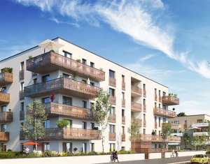 Achat / Vente immobilier neuf Huningue proche Square Soustons (68330) - Réf. 3422
