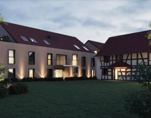Achat / Vente immobilier neuf La Wantzenau bords de l'Ill proche transports (67610) - Réf. 4456