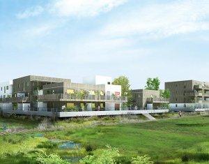 Achat / Vente immobilier neuf Ostwald sur les rives de l'étang de Bohrie (67540) - Réf. 1721