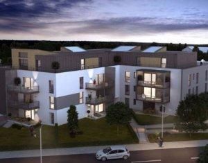 Achat / Vente immobilier neuf Saint-Louis en plein cœur du quartier des 3 Frontières (68300) - Réf. 4079