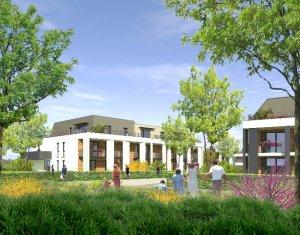 Achat / Vente immobilier neuf Strasbourg quartier de la Robertsau (67000) - Réf. 1556