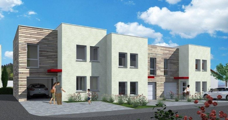 Achat / Vente immobilier neuf Folschviller proche commerces (57730) - Réf. 19