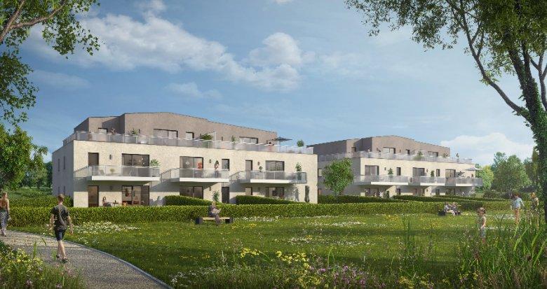 Achat / Vente immobilier neuf Oberhoffen dans un écrin de nature (67240) - Réf. 1508