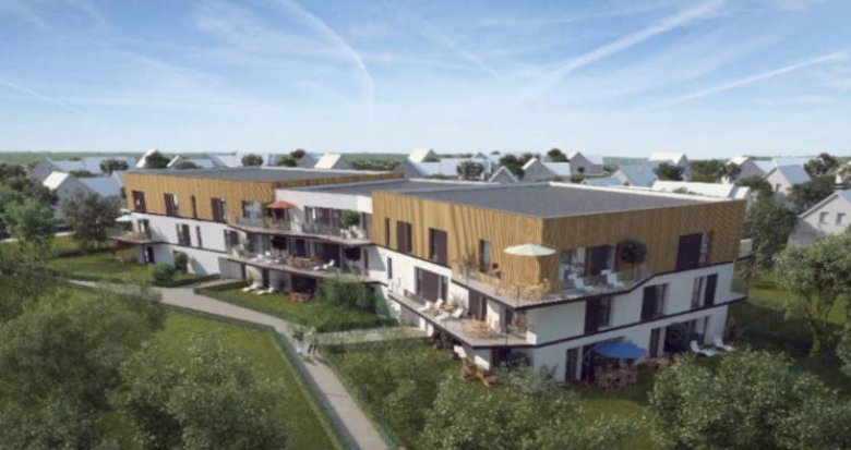 Achat / Vente immobilier neuf Souffelweyersheim proche canal de la Marne au Rhin (67460) - Réf. 3016