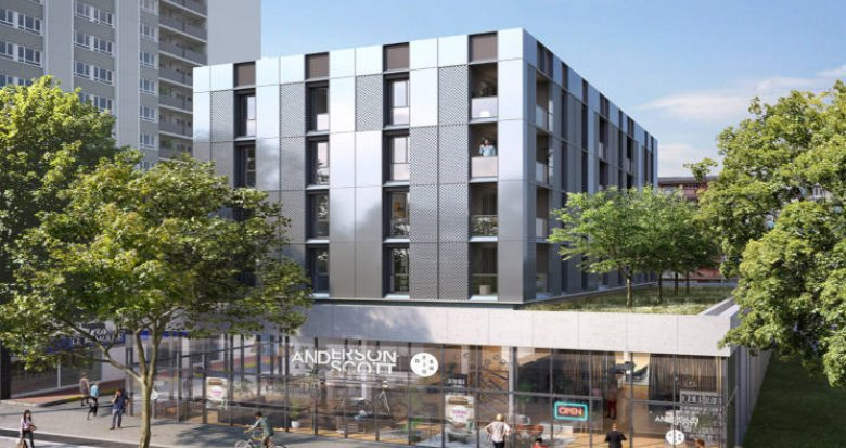 Achat / Vente immobilier neuf Strasbourg quartier de l'Esplanade (67000) - Réf. 3063