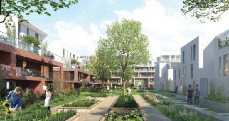 Achat / Vente immobilier neuf Strasbourg quartier des quinze (67000) - Réf. 2990