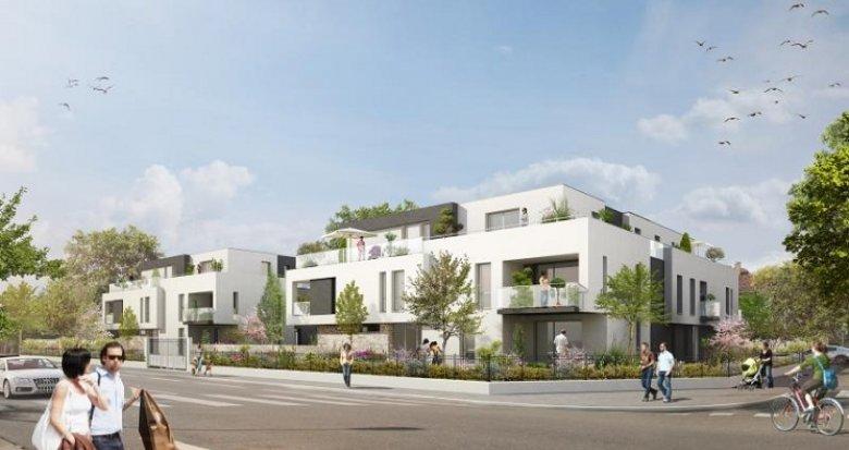 Achat / Vente immobilier neuf Strasbourg quartier Robertsau (67000) - Réf. 154