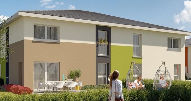 Achat / Vente immobilier neuf Thann proche Cernay (68800) - Réf. 3410